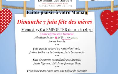 DIMANCHE 7 JUIN Fête des mères
